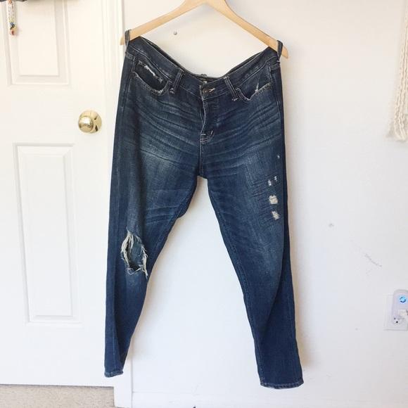 Abercrombie & Fitch Denim - BRAND NEW Abercrombie Boyfriend Jeans
